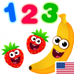 Funny Food 123! Kids Number Games for Toddlers  APK 2.4.0.2
