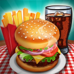 Kitchen Craze: Madness of Free Cooking Games City 1  APK