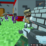 Shooting Zombie Blocky Gun Warfare 1.10 APK