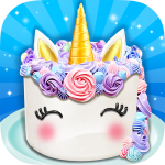 Unicorn Food – Sweet Rainbow Cake Desserts Bakery 3.1.0 APK