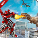 World Power Robots Dino Shoot 20- Dinosaur lite 20 1.0 APK