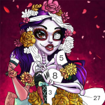 Zombie Painting – Color by Numbers & Monster Art 1.1.6 APK