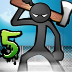 Anger of stick 5 : zombie 1.1.43 APK