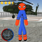 Stickman Spider Rope Hero Gangstar Crime 1.2 APK