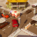 City Traffic Control Simulator: Intersection Lanes 2.0