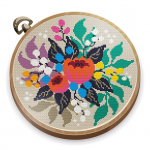 Cross Stitch Club — Color by Numbers with a Hoop 1.4.27 APK