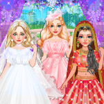 Fashion Wedding Dress Up Designer: Girls Games 0.14  APK