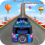 Impossible Jeep Stunt Driving: Impossible Tracks 1.1 APK