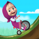 Masha and the Bear: Climb Racing and Car Games  3.4.3  APK