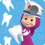 Masha and the Bear: Free Dentist Games for Kids 1.3.5 APK