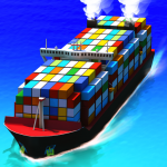 Sea Port: Build Town & Ship Cargo in Strategy Sim 1.0.159    APK