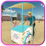 Beach Ice Cream Man Free Delivery Simulator Games  APK1.5