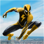Flying Spider Rope Hero – Super Vice Town Crime 1.0.32 APK