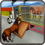 Wild Horse Zoo Transport Truck Simulator Game 2018 1.7 APK