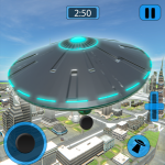 Alien Flying UFO Simulator Space Ship Attack Earth 1.4 APK