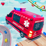 Ambulance Car Stunts: Mega Ramp Stunt Car Games 2.1 APK