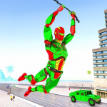Army Robot Rope hero – Army robot games 2.2 APK