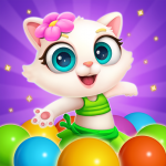 Bubble Shooter: Cat Island Mania 2020 1.10 APK