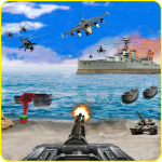 Call of Beach Defense: FPS Free Fun 3D Games 1.3 APK