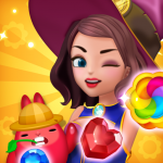 Jewel Witch – Best Funny Three Match Puzzle Game 1.10.0  APK