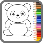 My Dino Town: Coloring Pages for Kids & Games 1.0 APK