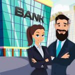 Pretend Play Bank Manager: Town Office Fun Life  APK 1.0.7
