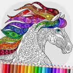 Relaxing Adult Coloring Book 2.5 APK