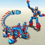 Scorpion Robot Transforming – Robot shooting games 1.9 APK