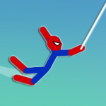 Super Hero Hook: Stickman Rope Swing 1.0  APK