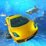 Underwater Stunts Car Flying Race 2.0 APK