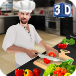 Virtual Chef Cooking Game 3D: Super Chef Kitchen 2.4.0 APK