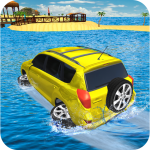 Water Surfer Jeep Cars Race on Miami Beach 1.5 APK