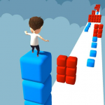 Cube Tower Stack Surfer 3D – Race Free Games 2020 1.46  APK