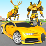 Deer Robot Car Game – Robot Transforming Games 1.0.3 APK
