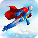 Flying Hero Robot Transform Car: Robot Games 2.1.6  APK