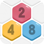 HexPop:Make number to 2048,Free Merge Puzzle Games 2.001 APK