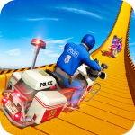 Police Bike Mega Ramp Impossible Bike Stunt Games 2.9 APK