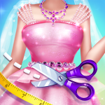 👸✂️Royal Tailor Shop 3 – Princess Clothing Shop 3.9.5026  APK