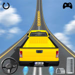 4X4 Jeep stunt drive 2019 : impossible game fun 1.0.8  APK