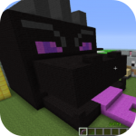 Black fire  Dragon Mod for MCPE 4.3 APK