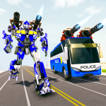 Bus Robot Car Transform War –Police Robot games 3.6 APK