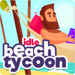 Idle Beach Tycoon : Cash Manager Simulator 1.0.24  APK