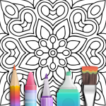 Mandala Coloring Book 3.1.4 APK