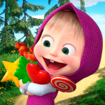 Masha and the Bear: Running Games for Kids 3D 1.1 APK