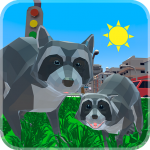 Raccoon Adventure: City Simulator 3D 1.02 APK