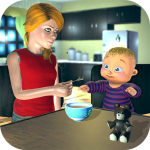 Real Mother Baby Games 3D: Virtual Family Sim 2019 1.0.5 APK