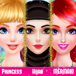 Royal Hijab, Mermaid And Princess Fashion Makeover 2.0 APK