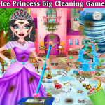Winter Princess Big House Cleaning- Home Cleaning 1.1 APK