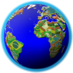 World Map Quiz: Coutries, Capitals, Flags 1.4.1 APK
