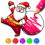 Christmas Coloring Game – Learn Colors 4.3 APK